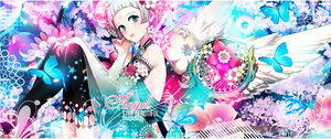 Wallpaper Stay Beautiful / Duo With Yoru by Yumijii