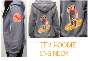 TF2 Engi hoodie by HAZENHYTE