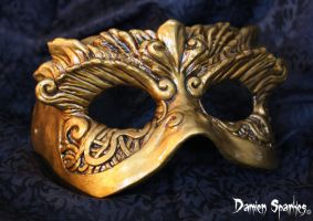Mask Painted by Deadeyedamo