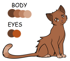 Neko (Cat Form) Ref. by NekoSister