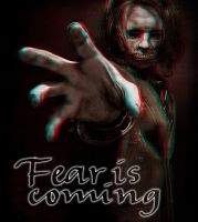 Fear is Coming 3-D conversion by MVRamsey