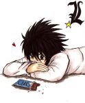 Death Note - L Resting by AngelofArtists