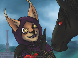No Shadowmere, not those apples, they are poisoned by Doku-Sama