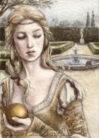ACEO The Princess and the Frog by Achen089