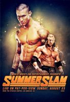 WWE Summerslam 09 Poster by SaintMichael
