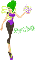 Pytha - fairy of Geometry by CharmedWings