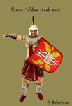 Roman Soldier stock pack by Arlesienne