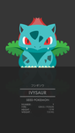 Ivysaur by WEAPONIX