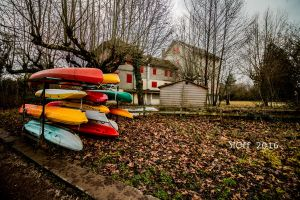 Canoes and shutters by StoFF-1990