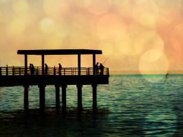 Down by the Pier by shikoro