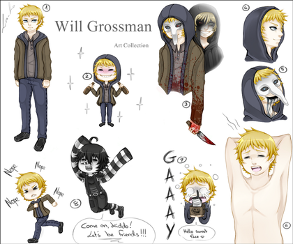 Will Grossman - Art Collection by Lea-Lu