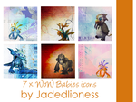 World of Warcraft Babies Icons by jadedlioness