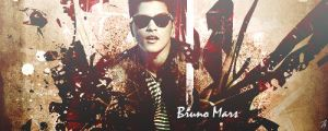 Bruno Mars  Signature by ZiADGFX14