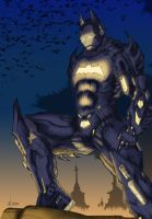 Ironknight Inks 1 By Kernowarrior by 626Ghost