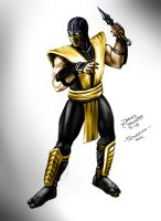 Scorpion - Mortal Kombat by jameslink