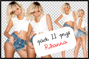 Pack 11 pngs Rihanna by I-LiveMyLife