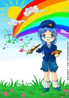 all the colours of the rainbow by llifi-kei