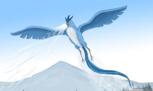 Articuno The Ice Bird by Louisetheanimator