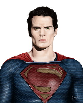 Man Of Steel by neomancer101