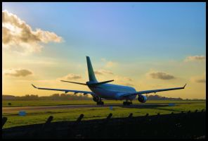 A330 taixing to the active by disasterdesigner