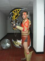 God of war 3 cosplay by wingzerox86