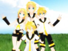 More Of The Kagamines by rinXlen79