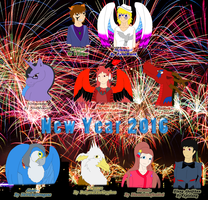 New Year 2016 by FableworldNA