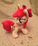 Apple Bloom and her cutie mark Plush by KetikaCraft
