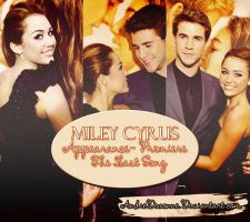 ~Miley Cyrus Premiere The Last Song by AndreDevonne