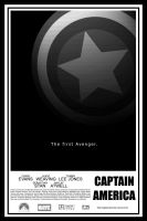 Captain America Movie Poster by Lafar88
