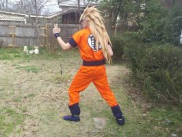 Super saiyan 3 goku cosplay 3 by sasuke12392