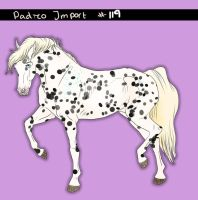 Padro Import #119 - Claimed by Boggeyboo