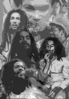 reggae collage1 by BuzzyConejo