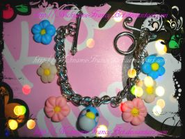 Bracelet with fimo charms by FrancescaBrt
