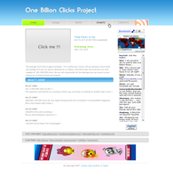 One Billion Clicks Project by stankoff