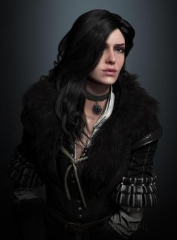 Yennefer of Vengerberg by AnubisDHL