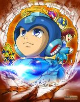 MegaMan Tribute by marvisionart