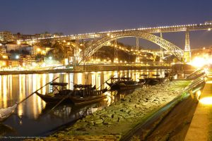 Porto - D. Luis Iron Bridge 5 by Lynx-Pardina