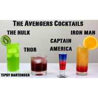 The Avengers Cocktails! by TipsyBartender