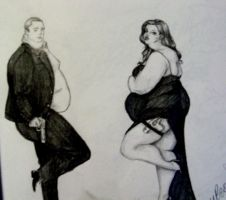 Mr. and Mrs. FAT Smith by SarangOjena