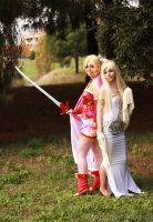 Dissidia FF cosplay by HeavenAndSky