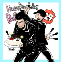 Happy Birthday Rob by molicoross