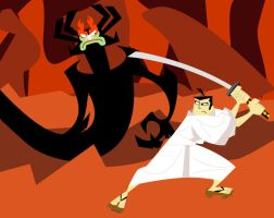 Samurai Jack Showdown by AnonyDDR