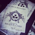 Scars and Sketches VOL II art book by ShawnCoss