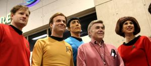 Almost the cast of Trek by Neumatic