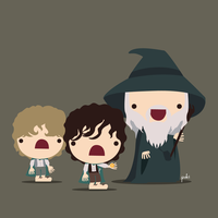 The Fellowship of the Ring, team1 by StepPuki
