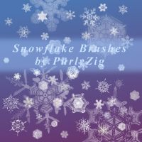 Actual Snowflakes Brush Set by PurlyZig