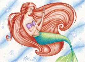 The little mermaid by DreamyNaria