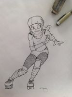 Derby girl inked by MelissaConroy