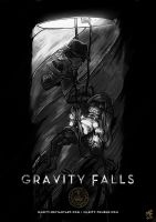 Gravity Skyfall by illeity